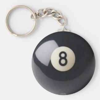 Porte-clés Porte - clé de Huit-Ball