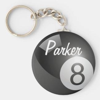 Porte-clés Porte - clé de huit sports de boule