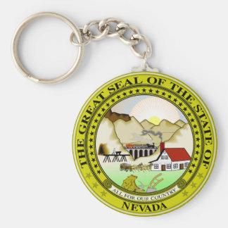 Porte-clés Porte - clé de joint d'état du Nevada
