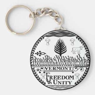 Porte-clés Porte - clé de joint d'état du Vermont