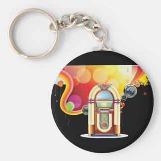 Porte-clés Porte - clé de juke-box