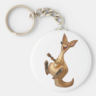 Porte-clés Porte - clé de kangourou de Banjo-Strummin'