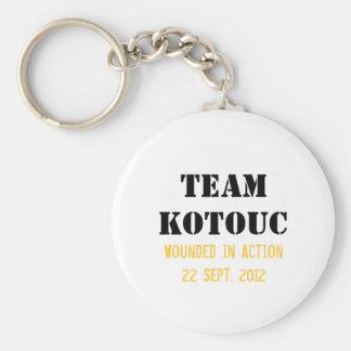 Porte-clés Porte - clé de Kotouc d'équipe
