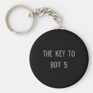 Porte-clés Porte - clé de la boîte 5