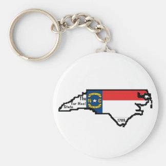 Porte-clés Porte - clé de la Caroline du Nord