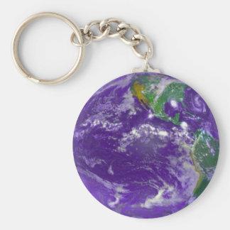 Porte-clés Porte - clé de la terre de planète