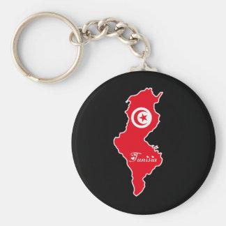 Porte-clés Porte - clé de la Tunisie