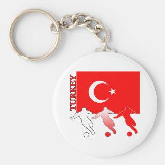 Porte-clés Porte - clé de la Turquie du football