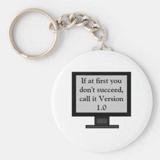 Porte-clés Porte - clé de la version 1,0