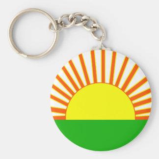 Porte-clés Porte - clé de lever de soleil