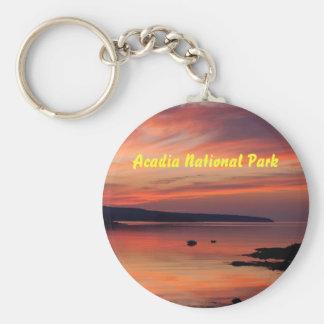 Porte-clés Porte - clé de lever de soleil d'Acadia