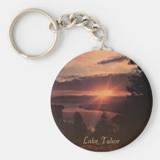 Porte-clés Porte - clé de lever de soleil du lac Tahoe