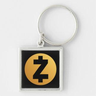 Porte-clés Porte - clé de logo d'argent liquide de Z