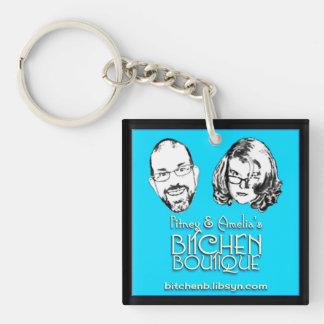 Porte-clés Porte - clé de logo de boutique de Bitchen