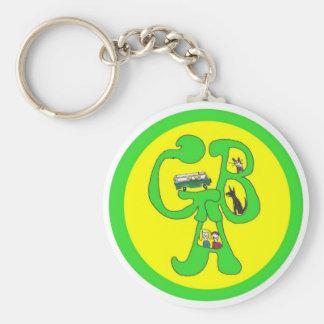Porte-clés Porte - clé de logo de GBA