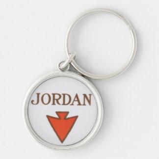 Porte-clés Porte - clé de logo de la Jordanie