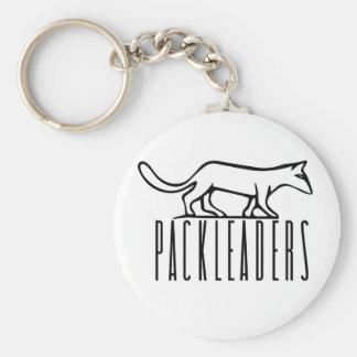 Porte-clés Porte - clé de logo de noir de PackLeader