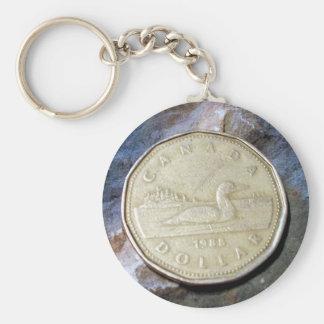 Porte-clés Porte - clé de Loonie de 1988 Canadiens