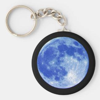 Porte-clés Porte - clé de lune bleue