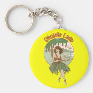 Porte-clés Porte - clé de Madame #1 d'ukulélé