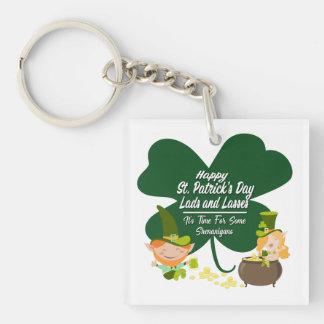 Porte-clés Porte - clé de malice du jour de St Patrick