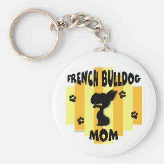 Porte-clés Porte - clé de maman de bouledogue français