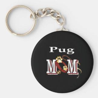 Porte-clés porte - clé de maman de carlin