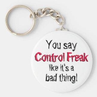 Porte-clés Porte - clé de maniaque du contrôle