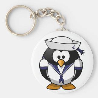 Porte-clés Porte - clé de marin de pingouin