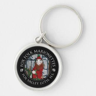 Porte-clés Porte - clé de marionnette de farceur de FVLHS
