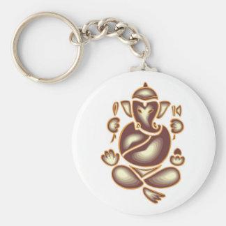 Porte-clés Porte - clé de méditation d'éléphant de l'Inde