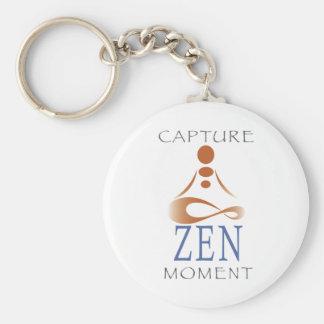 Porte-clés Porte - clé de moment de zen de capture