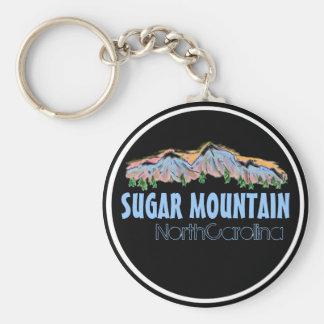 Porte-clés Porte - clé de montagnes de la Caroline du Nord de