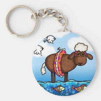 Porte-clés porte - clé de moutons d'été