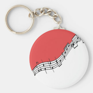 Porte-clés Porte - clé de musique