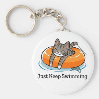 Porte-clés Porte - clé de natation de Skooter