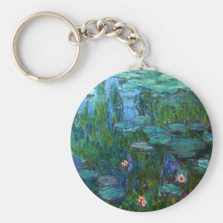 Porte-clés Porte - clé de nénuphars de Monet Nympheas