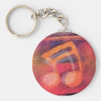 Porte-clés Porte - clé de note de musique