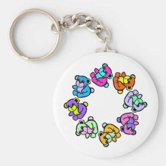 Porte-clés porte - clé de nounours