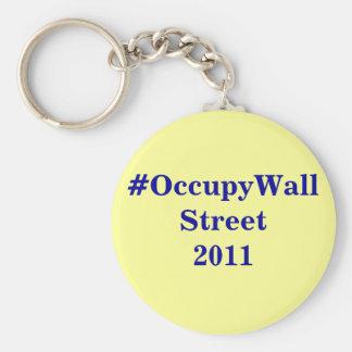 Porte-clés porte - clé de #OccupyWallStreet