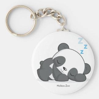 Porte-clés Porte - clé de panda de sommeil