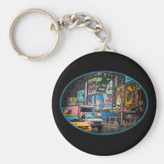 Porte-clés Porte - clé de panneaux-réclame de Times Square