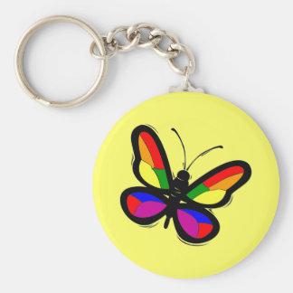 Porte-clés Porte - clé de papillon de gay pride