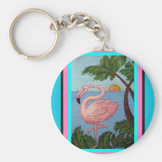 Porte-clés Porte - clé de paradis de flamant