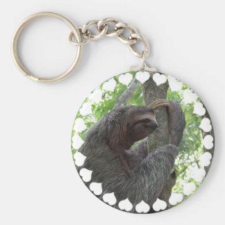 Porte-clés Porte - clé de paresse d'escalade d'arbre