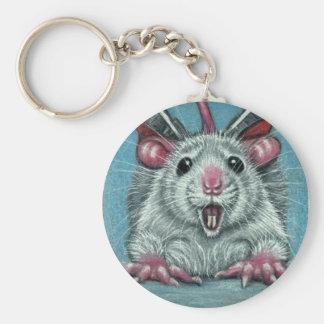 Porte-clés Porte - clé de patineur tombé par rat