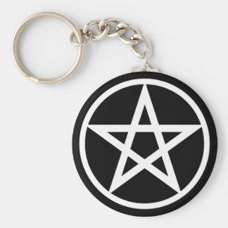 Porte-clés Porte - clé de pentagramme