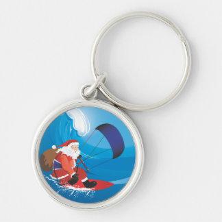 Porte-clés Porte - clé de Père Noël Kitesurf
