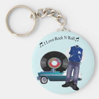 Porte-clés porte - clé de petit pain de la roche N des années