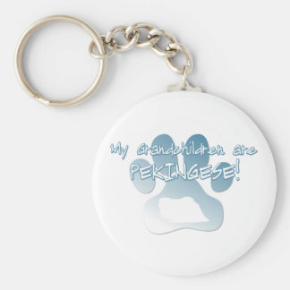 Porte-clés Porte - clé de petits-enfants de Pekingese